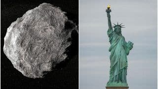 Asteroid Twice The Size of Statue of Liberty Heading Towards Earth, Will Be Closest to Us on Feb 22