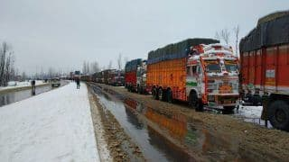 Jammu and Kashmir Highway Remains Shut for Second Day Following Snowfall and Incessant Rain