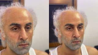 Ranbir Kapoor Turns Semi-Bald, Old Man For an Ad, His BTS Pictures Sends Internet Into Tizzy