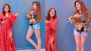 Rubina Dilaik, Neha Kakkar Perform Hook Up Steps on Their Hit Song 'Marjaneya', Video is Must Watch