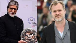 Amitabh Bachchan Honoured With FIAF Award For His Contribution To Cinema, Christopher Nolan Recalls Old Meeting