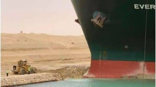Ship Stuck in Suez Canal Launches Tidal Wave of Memes, Many Are Reminded of 'Pivot' Scene From FRIENDS!