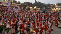 Shiva Tandava Stotra: काशी में 1000 महिलाओं ने गाया शिव तांडव स्त्रोत, जैसे शिव सभा लगी हो...देखें Video