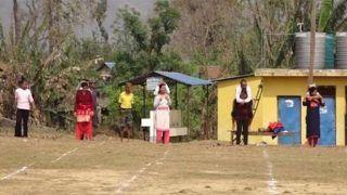 'Dum Laga Ke Haisha': Married Women Run With Their Husbands on Backs in This Unique Race   Watch Video