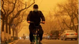 Beijing Turns Yellow As China Hit by Massive Sandstorm, Residents Share Scary Visuals | Watch Videos