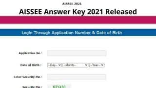 AISSEE Answer Key 2021 Released: NTA ने जारी किया सैनिक स्कूल AISSEE 2021 का Answer Key, ये है डाउनलोड करने का Direct Link