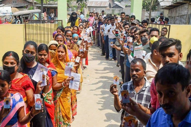 Assembly Elections 2021 Highlights: Polling Ends; Assam Records 82.29%, Tamil Nadu 65.11% West Bengal 77.68% Voter Turnout Till 7 PM