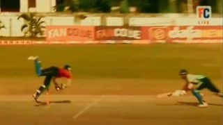 Mohammed Azharuddeen's Dive to Effect a Run Out During a Kerala T20 Game Will Remind You of Jonty Rhodes | Watch Video