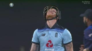 IND vs ENG: Ben Stokes Says SORRY to His Late Father After Getting Out For 99 During India vs England 2nd ODI in Pune | WATCH VIDEO
