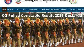 CG Police Constable Result 2021 Declared: छत्तीसगढ़ पुलिस ने जारी किया कांस्टेबल PET का रिजल्ट, ये है चेक करने का डायरेक्ट लिंक
