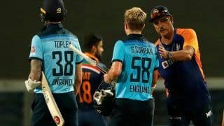 India vs england odi series india and england players hit 70 sixes during three match odi series 4543705