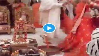Dance In Saat Phere: डांस करते हुए दूल्हा-दुल्हन ने लिए 7 फेरे, 5 लाख से ज्यादा व्यूज, लोग दे रहे जबरदस्त गालियां...