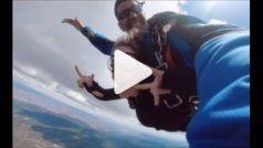 Skydiving Video: गर्लफ्रेंड को किया हवा में प्रपोज, इश्क की ये इंतहा भी देख लीजिए...