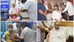 COVID-19 Vaccine Drive: दूसरे चरण के पहले दिन उपराष्ट्रपति, PM मोदी, अमित शाह समेत इन नेताओं ने लगवाई वैक्सीन