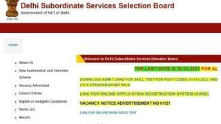 DSSSB Recruitment 2021: Application Process Starts For Over 1,000 Posts Tomorrow, Apply Through This Direct Link