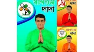 FACT CHECK: Political Parties Use Sourav Ganguly's Morphed Image for Social Media Campaigns