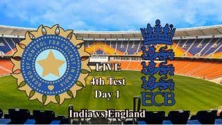 4th Test, Day 1 Live Blog: India vs England, Motera Cricket Stadium
