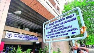 EPFO Keeps Interest Rates On Provident Fund Deposits Unchanged at 8.5% For FY 20-21