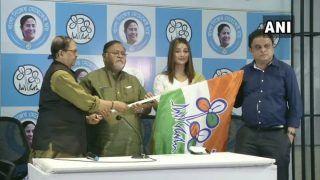 Bengali Actor Sayantika Banerjee Joins TMC, Asks People To Be With Didi In Polls