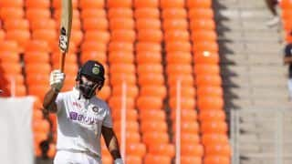 Pant Slams 1st Test Century on Indian Soil, Brings it up With a SIX