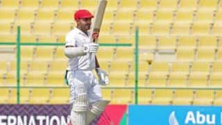 Hashmatullah shahidi becomes the first afghanistan batsman to score double hundred in test cricket 4484278