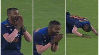 Hardik Pandya's Reaction After Shikhar Dhawan Takes Catch of Ben Stokes During Pune Decider is Epic | WATCH VIDEO