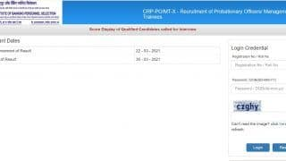 IBPS PO Mains 2020 Score Card Released at ibps.in   Here's How to Check, Direct Link to Download