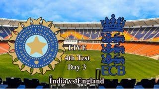 4th Test LIVE: India vs England Latest Updates From Day 3