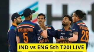 IND vs ENG 5th T20I Highlights: भारत ने इंग्लैंड को 36 रन से हराया, 3-2 से जीती सीरीज