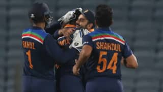 India vs england 1st odi krunal pandya prasidh krishna shines on debut india beat england by 66 runs