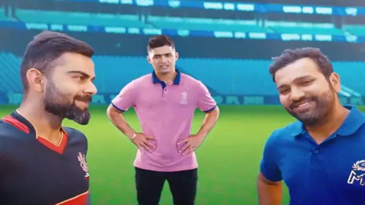 IPL 2021 Official Anthem: Virat Kohli, Rohit Sharma Dance ...