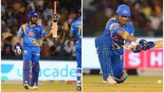 India Legends vs South Africa Legends: Yuvraj Singh, Sachin Tendulkar Star as IND-L Beat SA-L by 56 Runs in Road Safety World Series Game