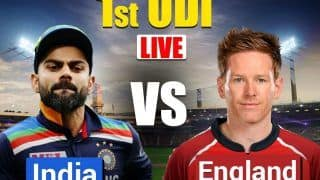 MATCH HIGHLIGHTS India vs England 1st ODI As it HAPPENED, Pune: Krishna Picks Four-For, Dhawan Shine With Bat as India Beat England by 66 Runs to Take 1-0 Lead