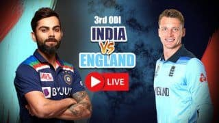 MATCH HIGHLIGHTS India vs England 3rd ODI, Today's Match Updates From Pune: Curran's 95 in Vain as India Beat England by 7 Runs to Win Series 2-1