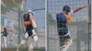 Virat Kohli Has a Batting Session in Nets Ahead of Decider 4th Test in Ahmedabad | WATCH VIDEO