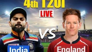 LIVE India vs England 4th T20I Live Cricket Score Ahmedabad: With Series at Stake, Kohli And Co. Will Look to Negate Toss Factor