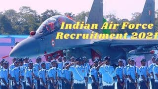 Indian Air Force Recruitment 2021: भारतीय वायुसेना में 10वीं, 12वीं पास के लिए नौकरी करने का गोल्डन चांस, इस Direct Link से जल्द करें आवेदन