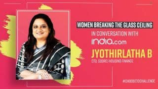 Women Breaking The Glass Ceiling: Meet Jyothirlatha B, CTO, Godrej Housing Finance | Women's Day