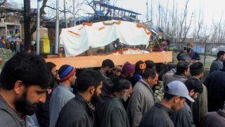 True Brotherhood: Muslims Perform Last Rites of Pandit Woman in Kashmir's Baramulla   Watch Video