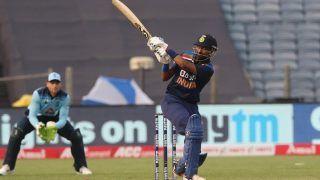 Krunal Pandya Hits Fastest Fifty on ODI Debut During 1st ODI Between India-England