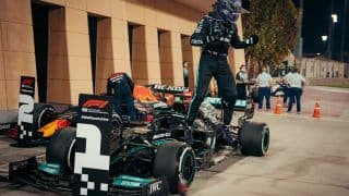 F1 2021: Lewis Hamilton Holds off Max Verstappen to Win Season Opener at Bahrain Grand Prix
