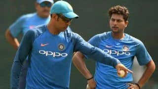 Ind vs eng stats shows kuldeep yadavs downfall in the absence of ms dhoni in odi 4540340