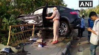 Punjab: Speeding Mercedes Kills 3 in Mohali