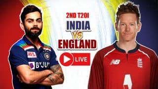 LIVE | 2nd T20I: Kohli & Co Look to Bounce Back vs Strong England