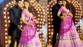 Jasprit Bumrah Dances With Wife Sanjana Ganesan in Sangeet Ceremony in Unseen Video Goes Viral | WATCH