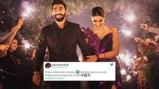Jasprit Bumrah Called a Hypocrite After Old 'Anti-Cracker' Tweet Resurfaces as Cricketer Posts Wedding Pics