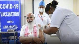 Laga Bhi Dia, Pata hi Nahi Chala: PM Modi to Sister P Niveda After Receiving Covaxin Jab