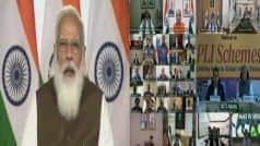 PM Modi Discusses Production Linked Incentive Scheme With India Inc | Key Points