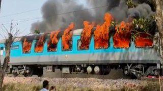 Delhi-Dehradun Shatabdi Express Catches Fire Near Kansro, All Passengers Safe
