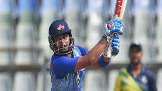 Vijay Hazare Trophy: पृथ्वी शॉ ने 24 बाउंड्री के दम पर ठोके 165 रन, मुंबई ने खिताबी मुकाबले में बनाई जगह